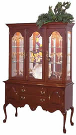 cherry china sideboard